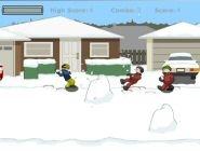 Bataille de neige