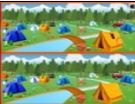 Camping : Spot the Differences