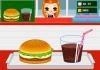 Cooking game: Hamburgers