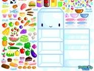 Cute fridge