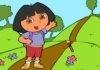 Dora Coloring In