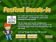 Festival Sneak-in