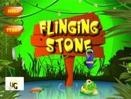 Flinging Stone