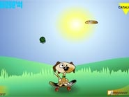 Freesbee dog