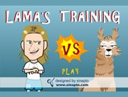 Lama's training