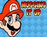 Mugging it up