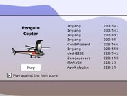 Pingouin copter