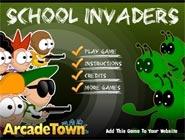 Invasion à l'école