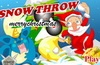 Snow Throw Merrychristmas