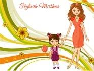 Stylish mother