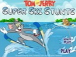 Tom and Jerry Super Ski Stunts