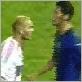 Zidane joue de la tête
